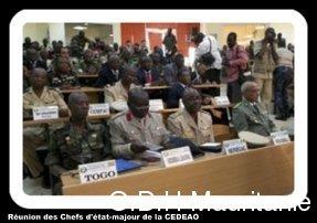 voir le zoom : Rencontre de chefs d'état-major ouest-africains, le 6 novembre 2012 à Bamako